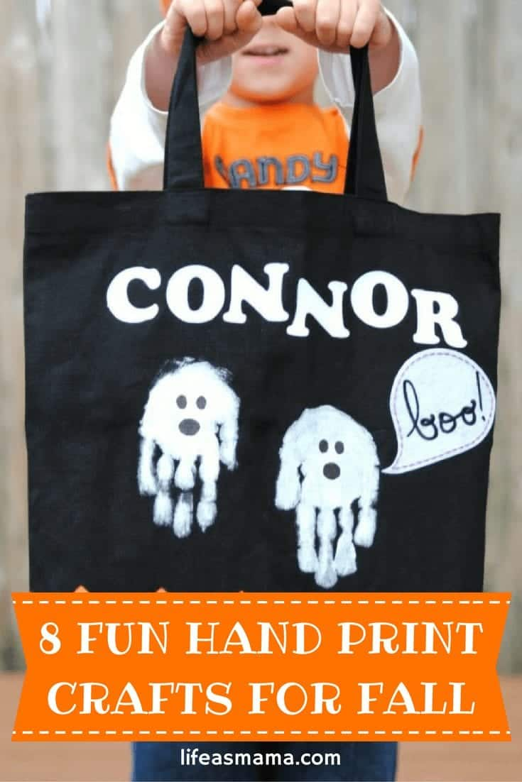 Fun Hand Print Crafts For Fall