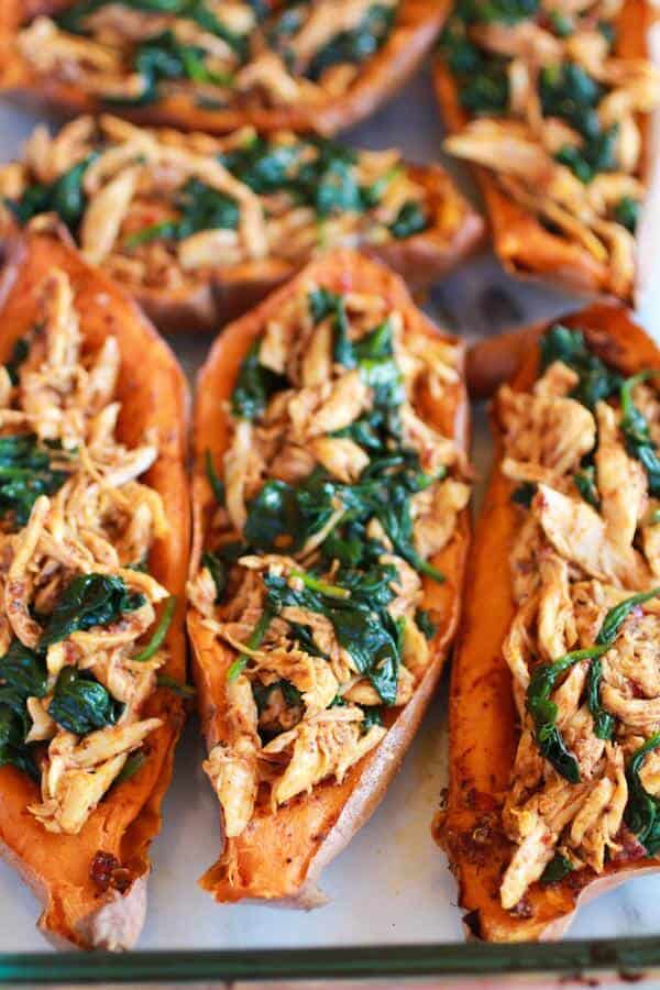 healthy-chipotle-chicken-sweet-potato-skins-4
