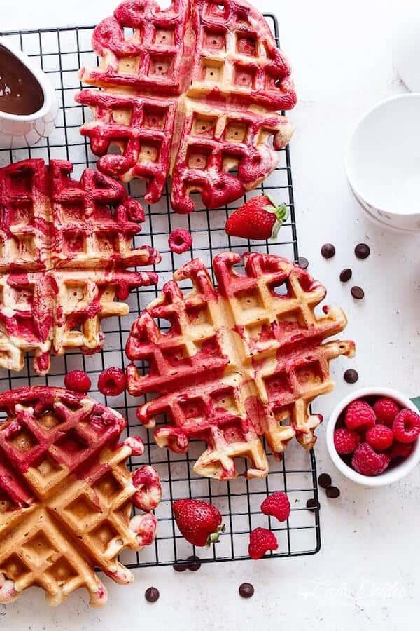 red-velvet-marbled-waffles-4