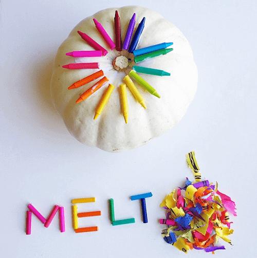 crayon-melted-pumpkin-craft-for-halloween-
