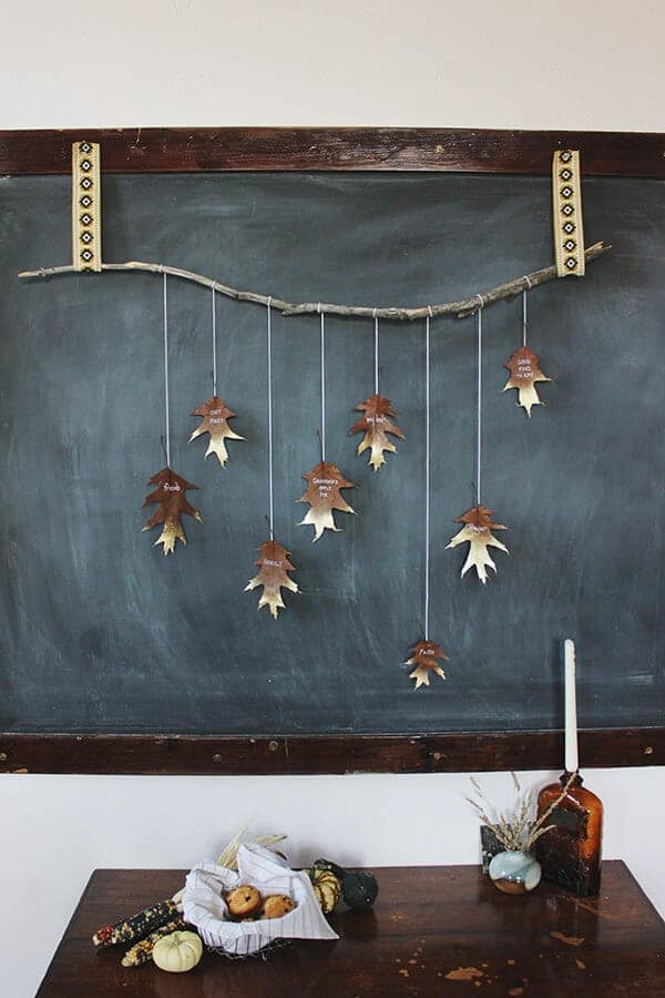 diy-leaf-garland