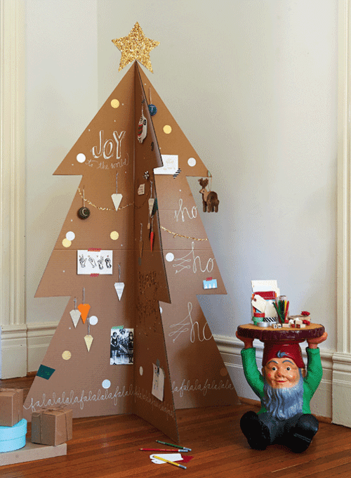 7 awesome non traditional christmas trees for Non christmas tree
