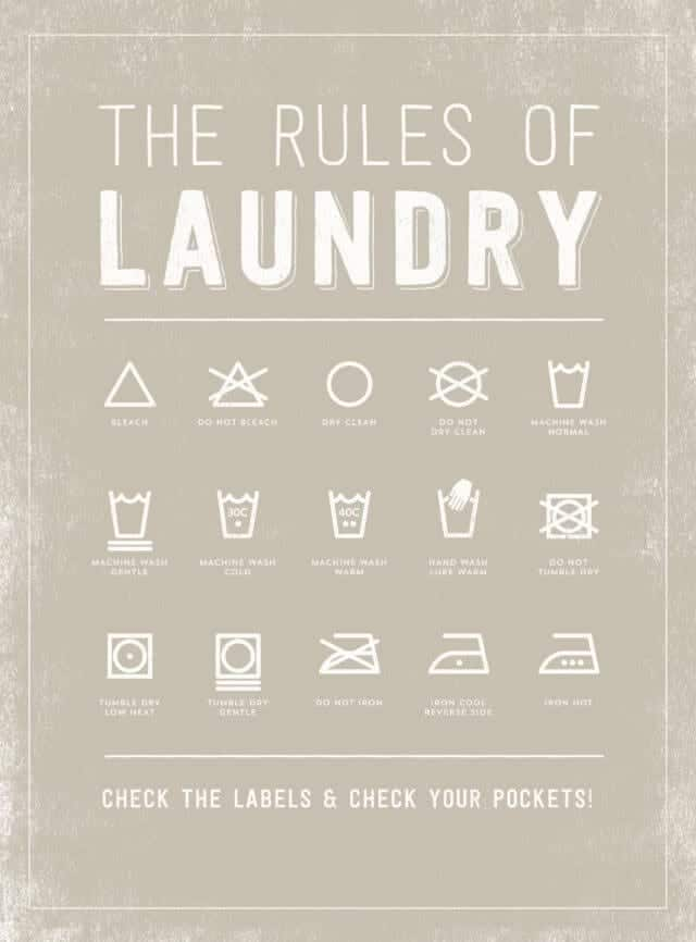 8 Cute Laundry Room Printables