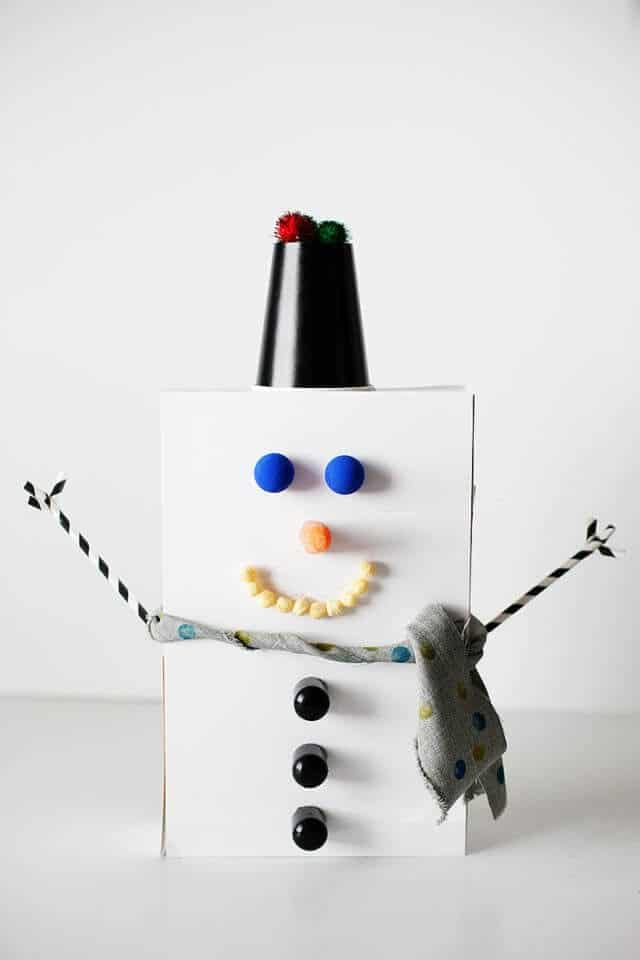 7 Fun Snowman Crafts To Do With Your Kids