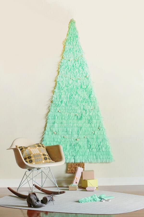 Non Traditional Christmas Tree.7 Awesome Non Traditional Christmas Trees