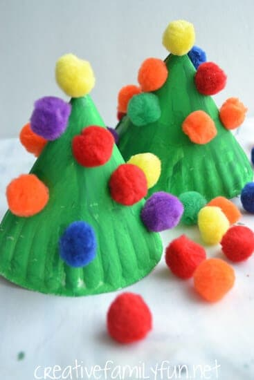 paperplatechristmastree6creativefamilyfun