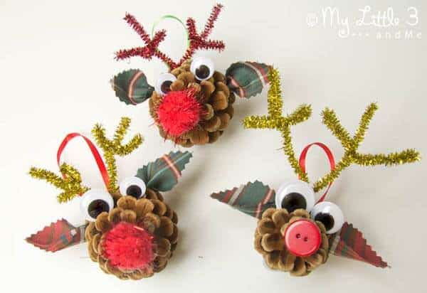 7 Pinecone Crafts For Kids