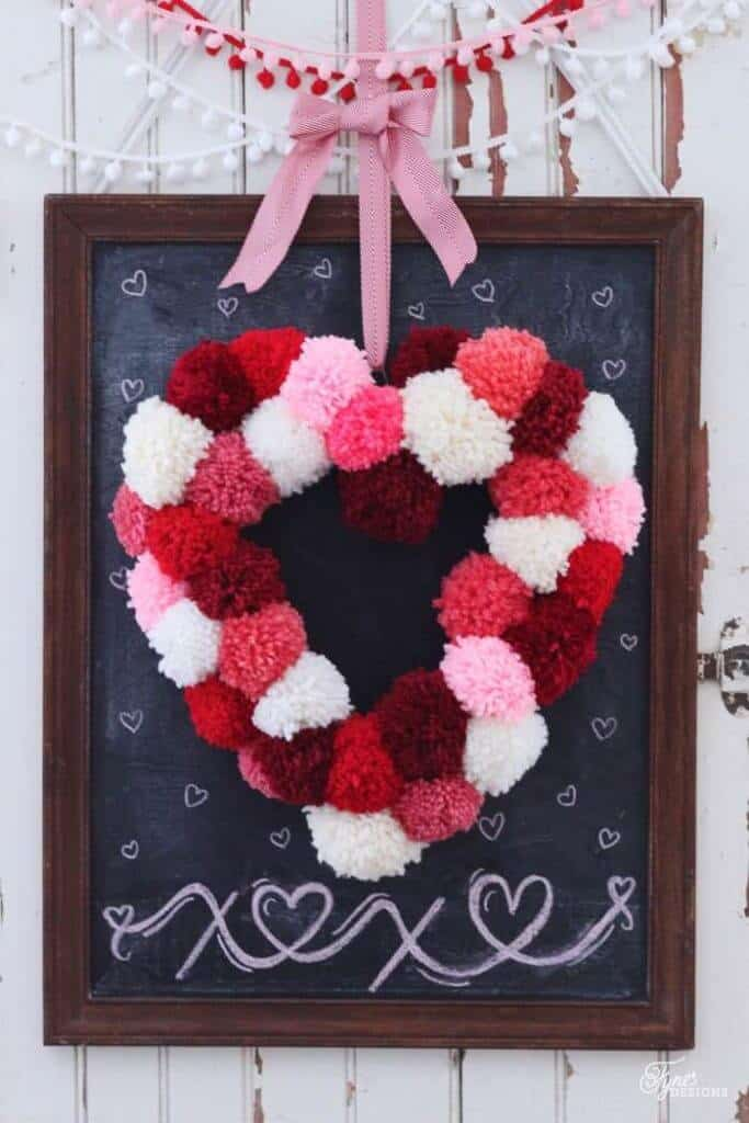 Itu0027s Also A Great Way To Try Your Hand At Crafting! Iu0027ve Rounded Up Some Of  My Favorite Valentineu0027s Day Wreaths That I Think Youu0027ll Love Too.