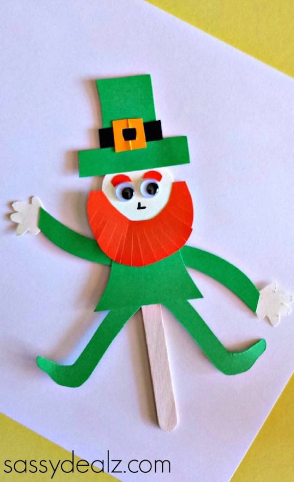 6 Adorable Leprechaun Crafts For Kids