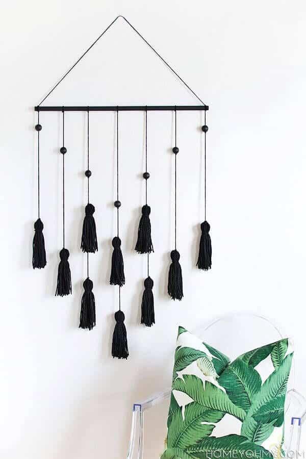 7 stylish diy tassel crafts