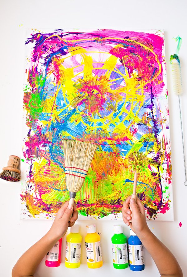 7 Pretty Painting Projects For Kids