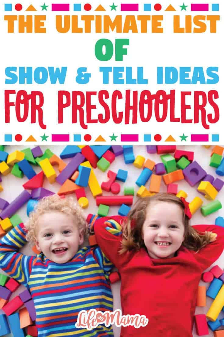 show and tell letter u the ultimate list of show tell ideas for preschoolers 24844 | The Ultimate List Of Show Tell Ideas For Preschoolers