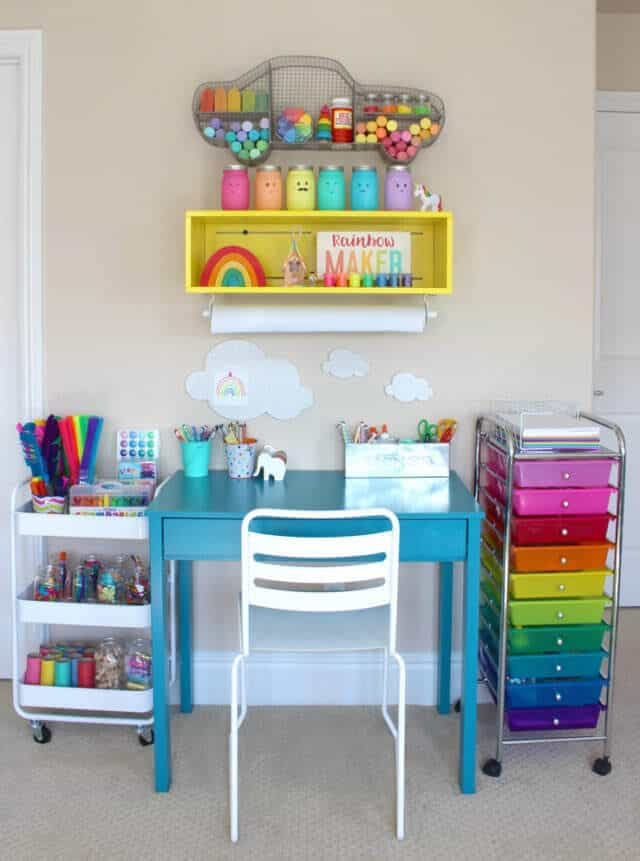 5 Creative Arts Amp Crafts Rooms For Kids