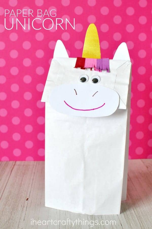 Crafts With Paper Bags For Preschoolers