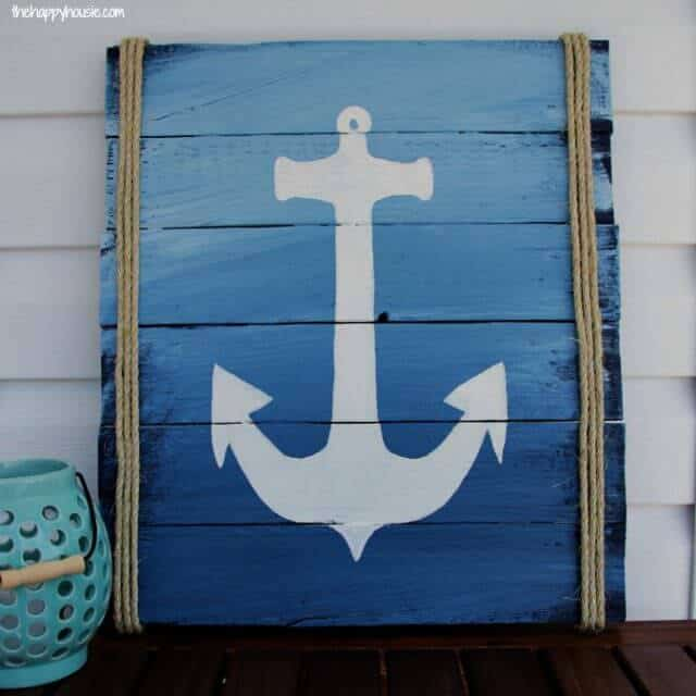Ombre Anchor Sign