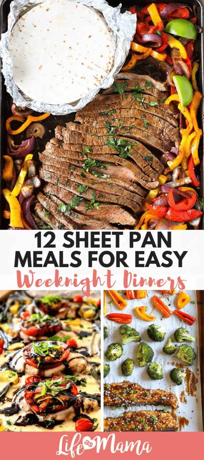 12 Sheet Pan Meals For Easy Weeknight Dinners