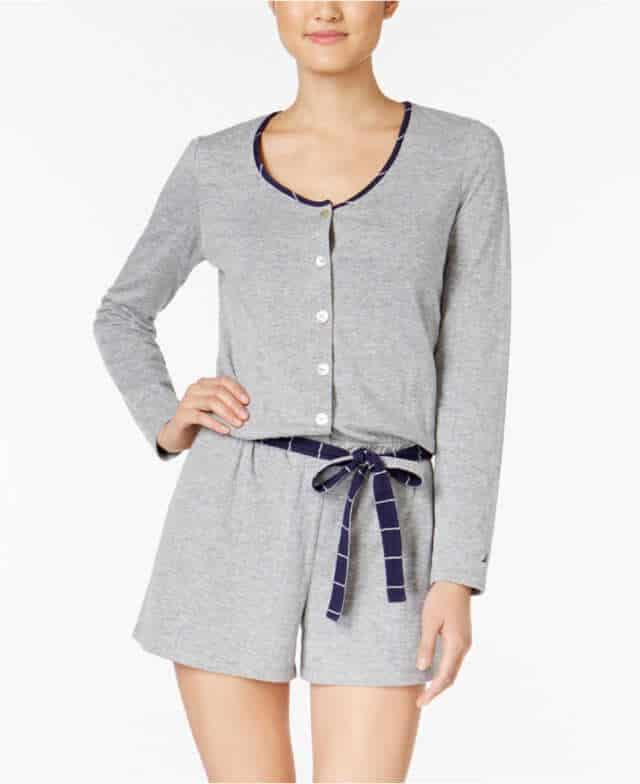 Knit Pajama Romper