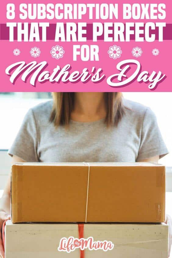 Mother's Day subscription boxes
