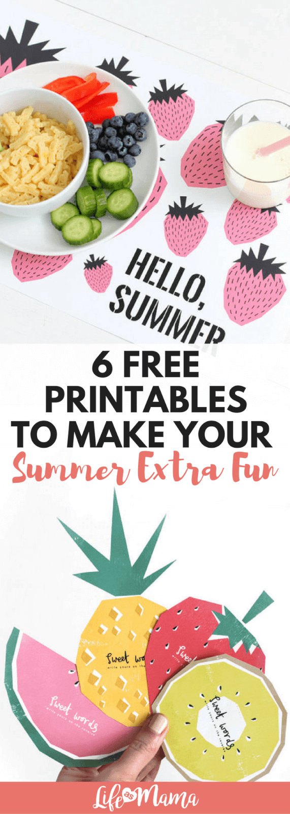6 free printables to make your summer extra fun