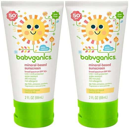 sunscreens for kids