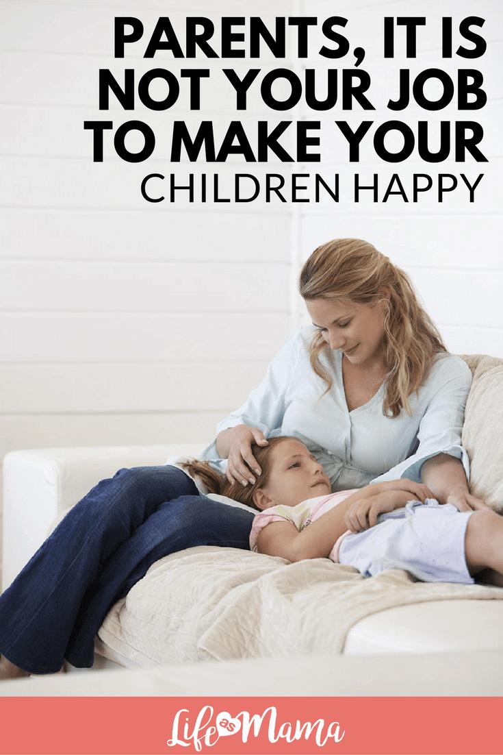 make your children happy