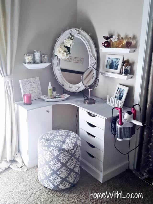 6 ways to diy a makeup vanity makeup vanity solutioingenieria Image collections