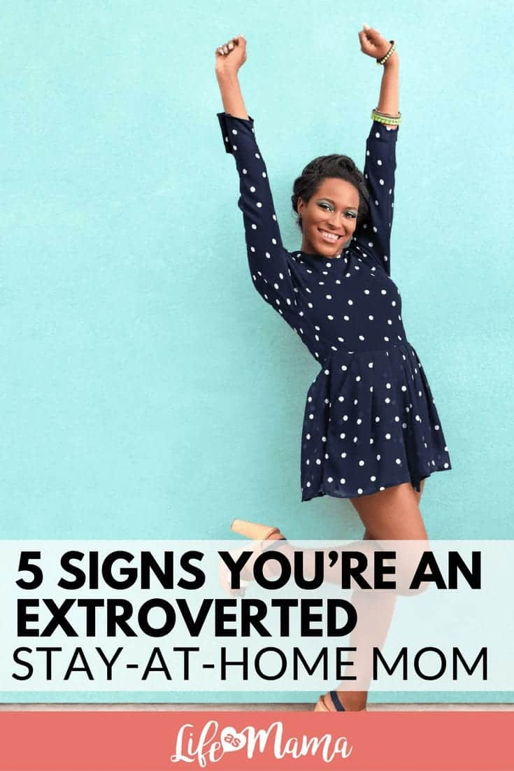 extroverted mom