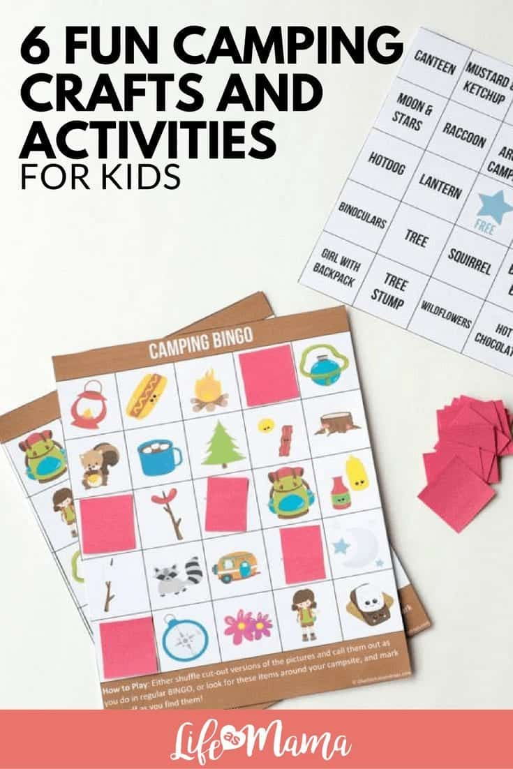 6 Fun Camping Crafts And Activities For Kids