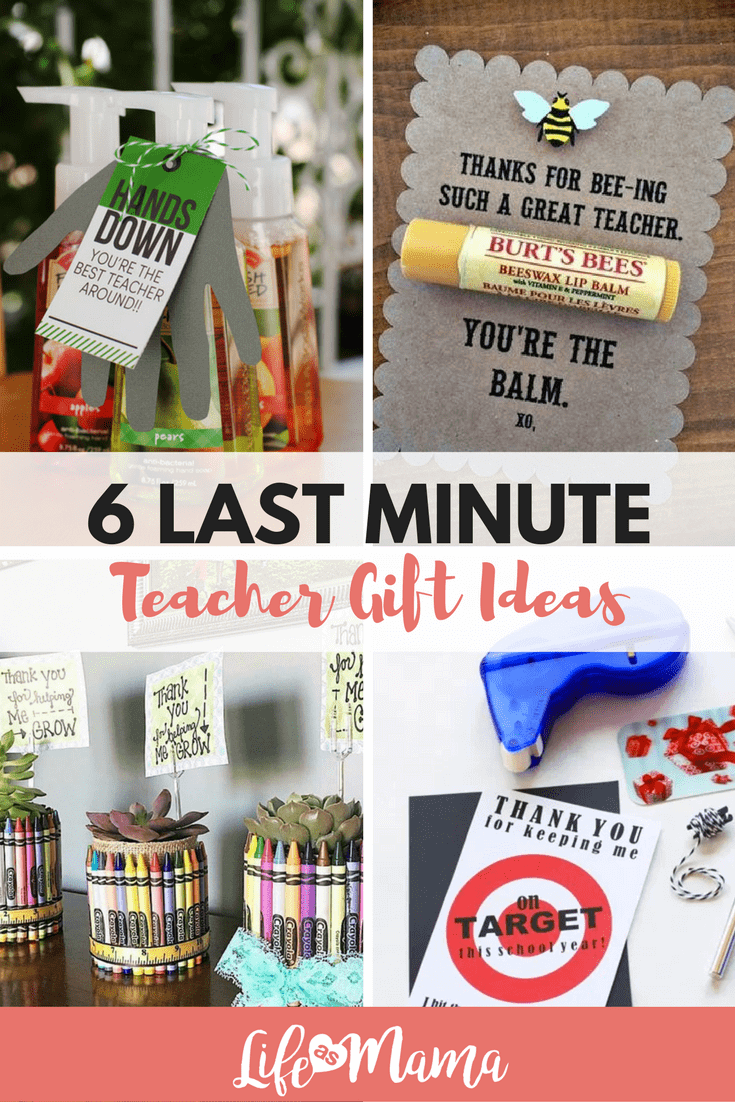 last minute teacher gifts