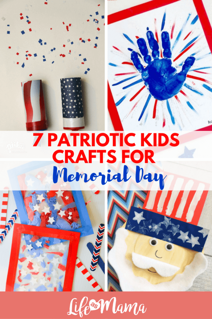 Patriotic Crafts For Preschoolers