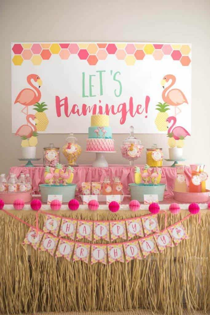 flamingo-themed parties