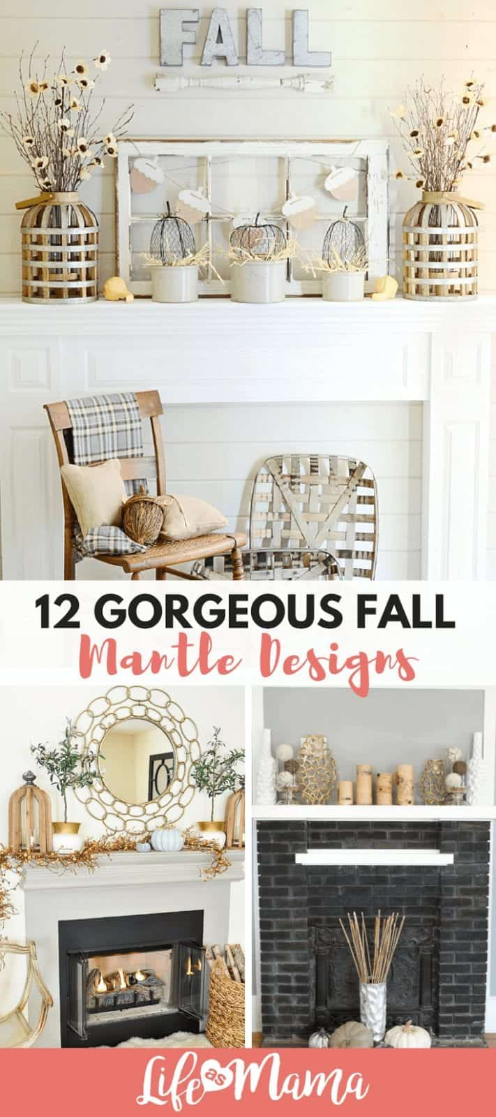 12 Gorgeous Fall Mantle Designs