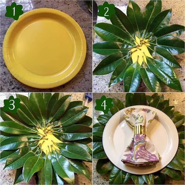 magnolia lead DIY
