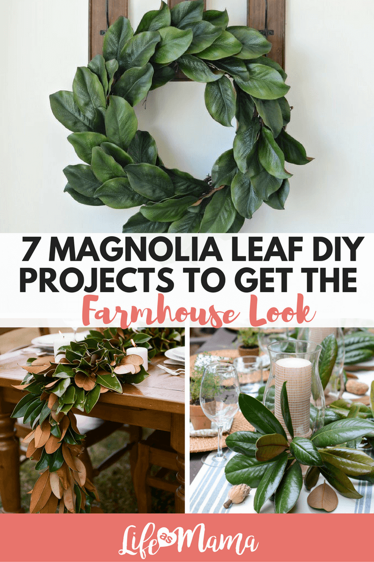 magnolia leaf DIY