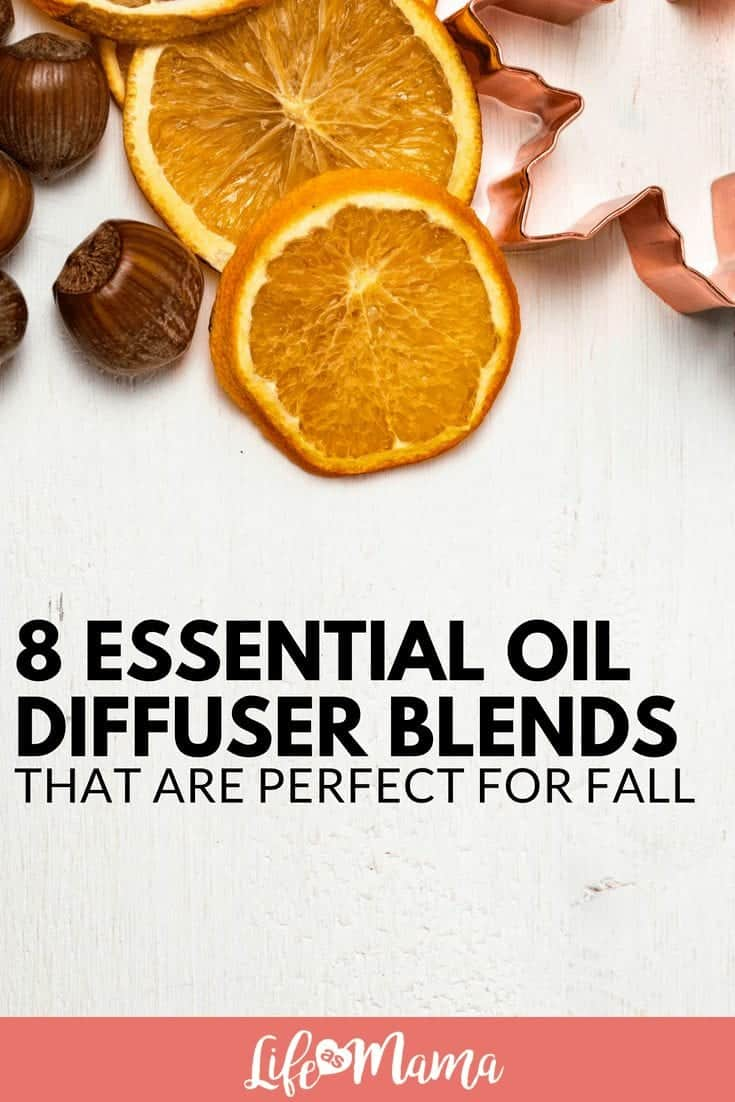 8 Essential Oil Diffuser Blends That Are Perfect For Fall