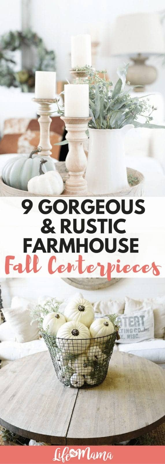 farmhouse fall centerpieces