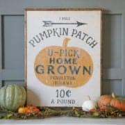 DIY Fall Signs