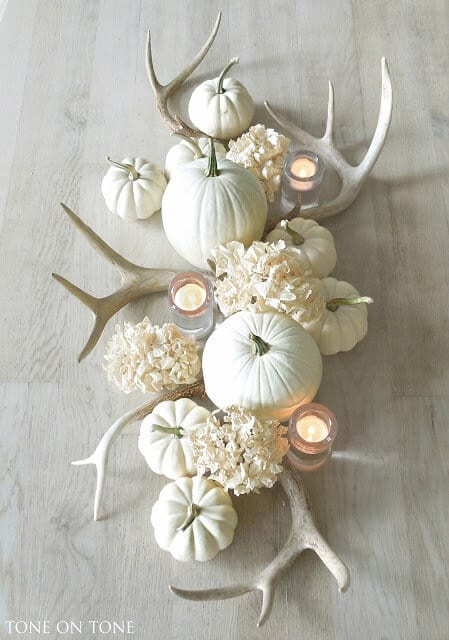 farmhouse fall centerpieces