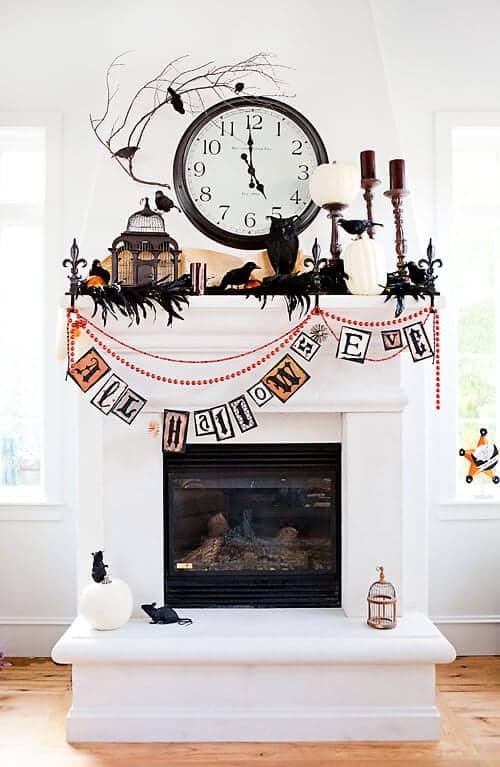 halloween mantles