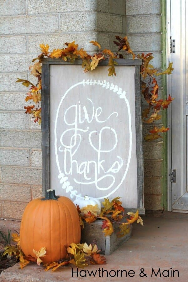 Thanksgiving porches