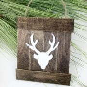 DIY rustic Christmas ornaments