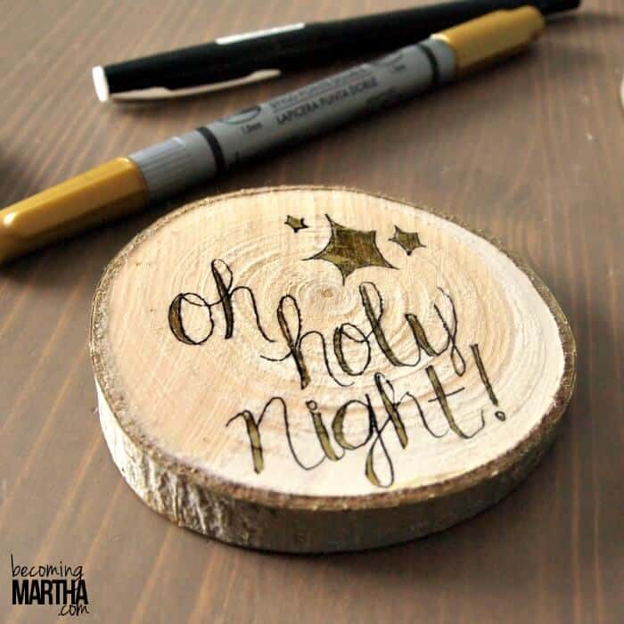 6 Of The Cutest DIY Rustic Christmas Ornaments