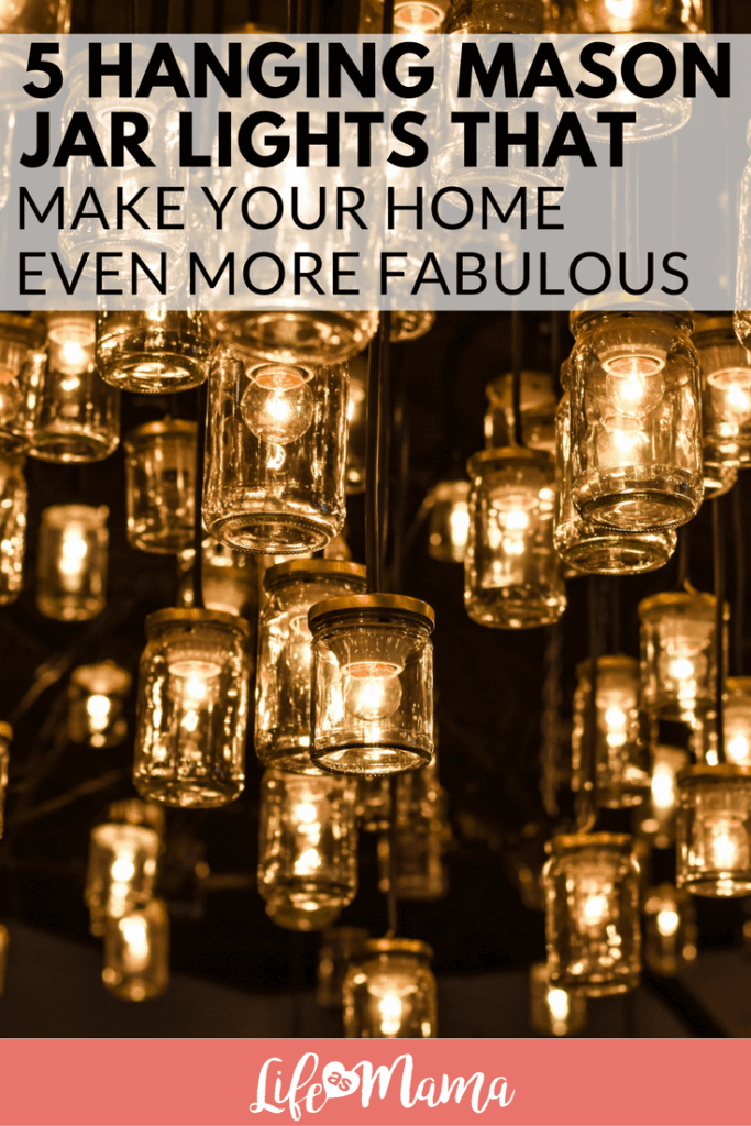 how to make mason jar christmas lights