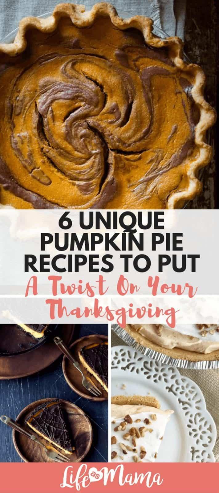 pumpkin pie recipes