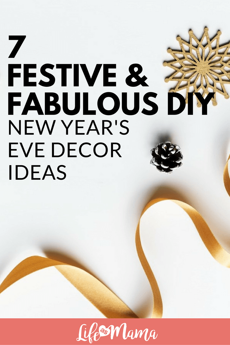 7 Fabulous Hair Magazines You Ve Got To Flip Through Hair: 7 Festive & Fabulous DIY New Year's Eve Decor Ideas