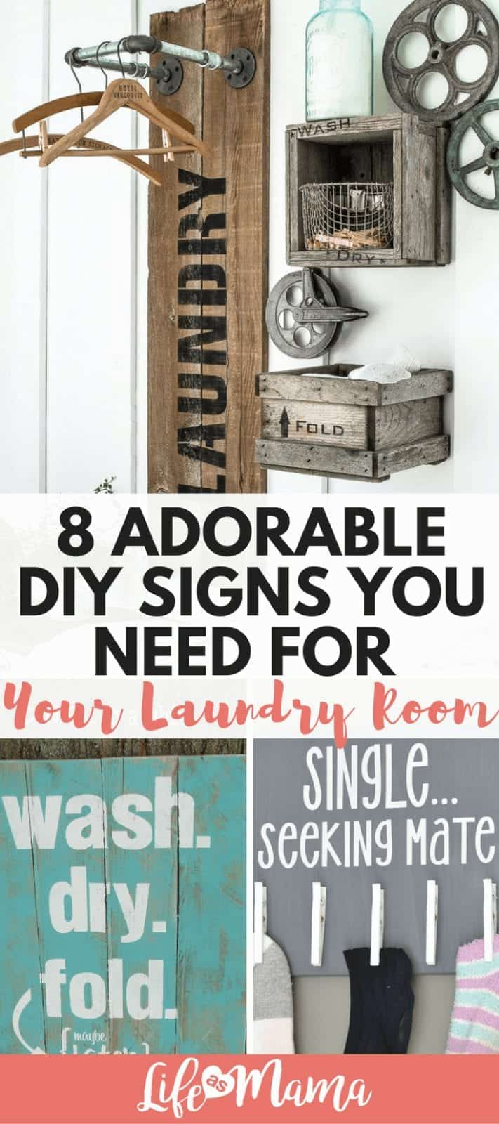 photo about Free Printable Laundry Room Signs called 8 Lovely Do-it-yourself Signs or symptoms By yourself Require For Your Laundry House