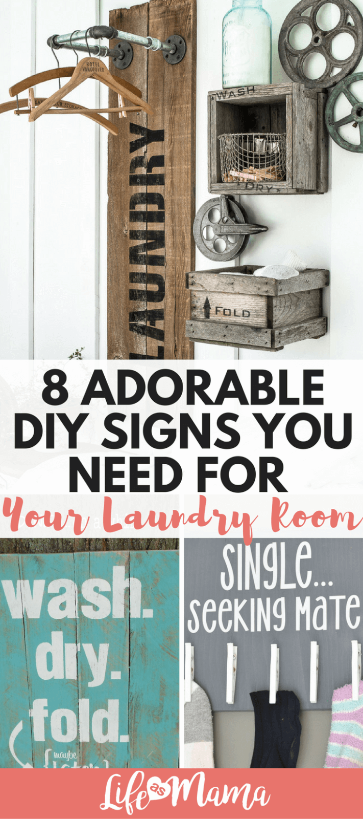 Laundry Signs 8 Adorable Diy Signs You Need For Your Laundry Room