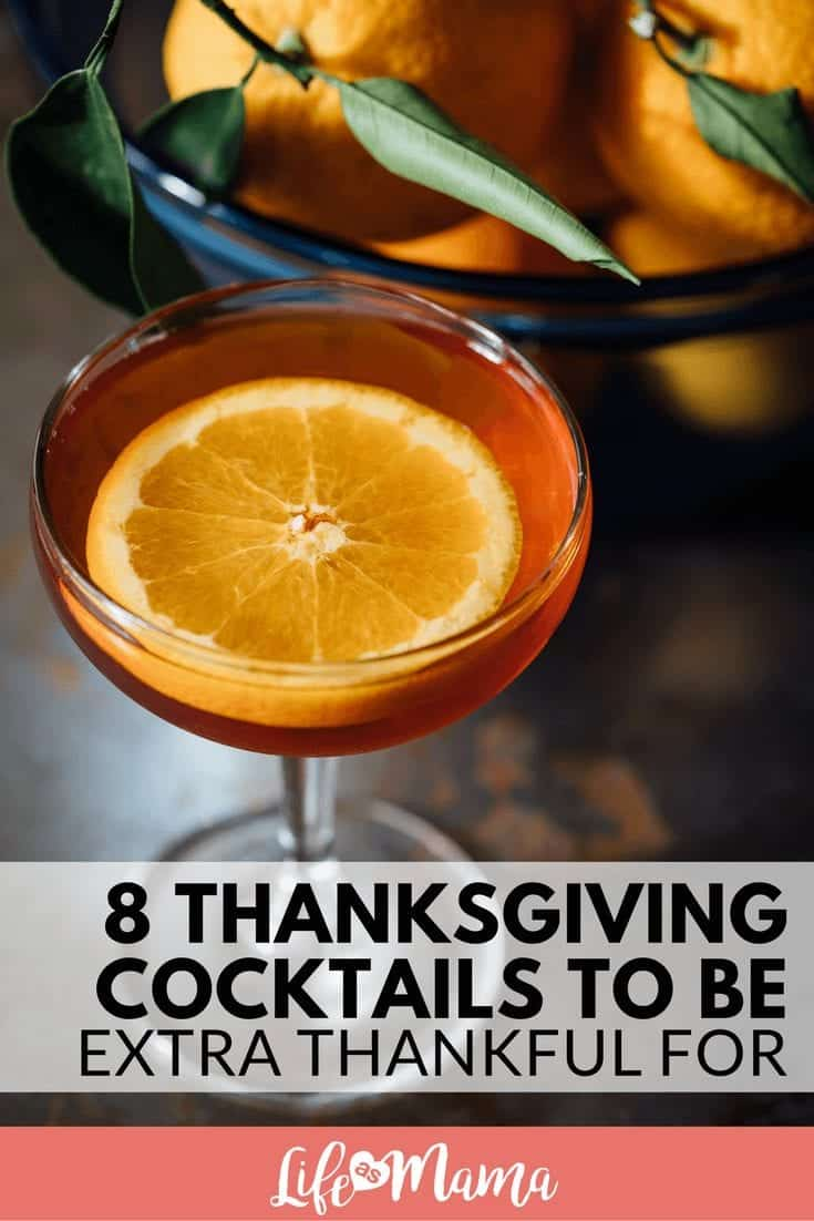 Thanksgiving cocktails