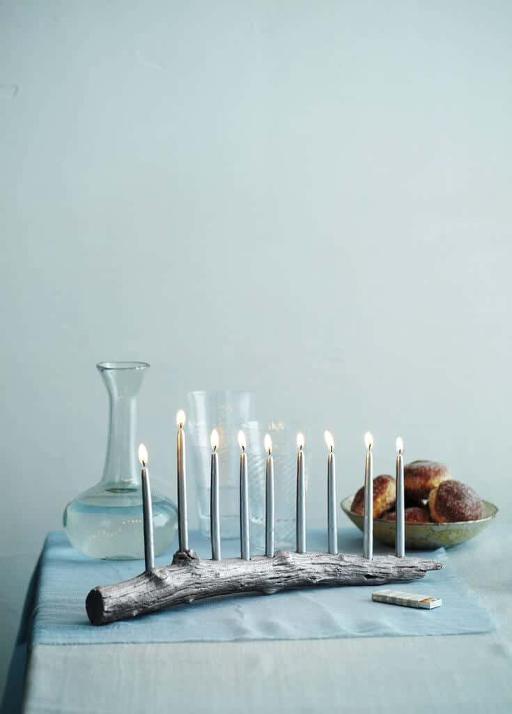DIY Hanukkah decorations
