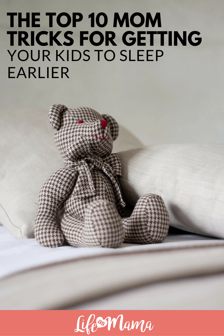 get your kids to sleep earlier